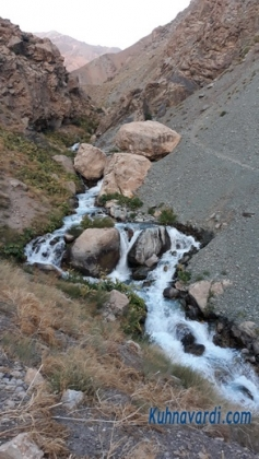 دره ولایت رود - ابتدای مسیر
