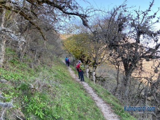 قله نقره سر - مسیر صعود