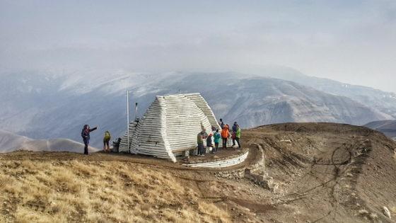 قله آسیاب باد - جانپناه امید