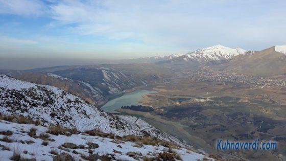 مسیر قله آراکوه - ویوی دریاچه سد لتیان