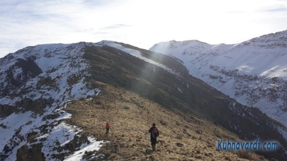 مسیر قله آراکوه از سد لتیان