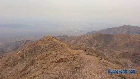 قله جلوئک - مسیر یال