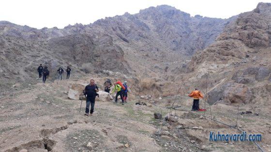 مسیر فرود - چشمه جلوئک