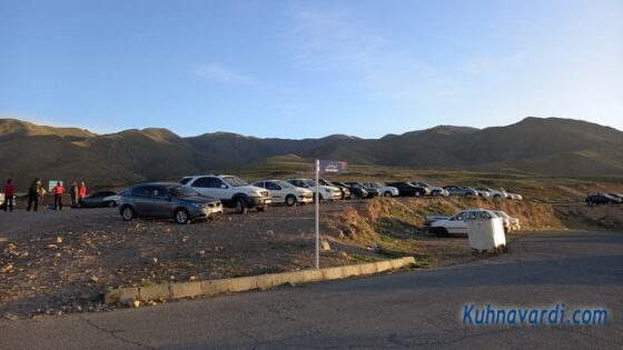 شلمزار - پارکینگ در ابتدای مسیر
