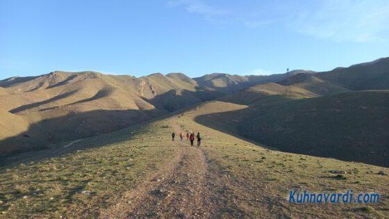 قله آسمان کوه ساوجبلاغ - ابتدای مسیر