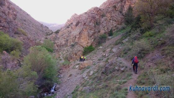 مسیر دره