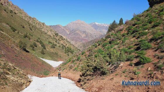 دره مسیر صعود (بعد از دوراهی)