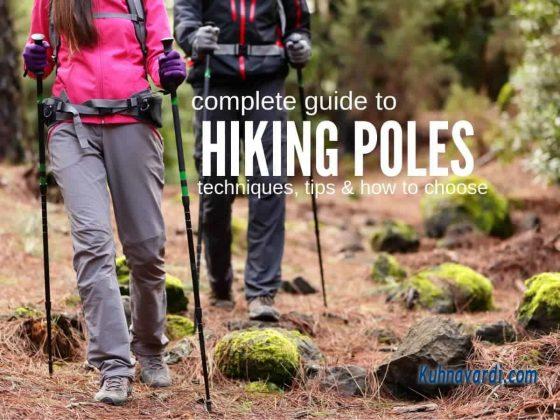 راهنمای خرید باتوم کوهنوردی Hiking Poles