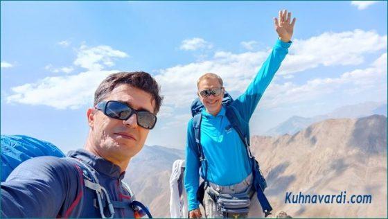 قله کافره ، نیما اسماعیلی - رضا حبیبی